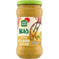 SUZI WAN Sauce bio au curry jaune 350g