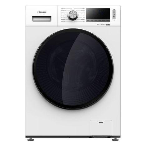 HISENSE Lave linge séchant hublot WD114BLV, 10 kg lavage, 7 kg séchage, 1400 T/min,