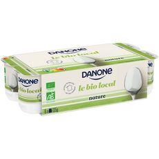 DANONE Danone Le Bio Local Yaourt nature 8x125g 8x125g