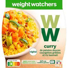 WEIGHT WATCHERS Weight Watchers Curry de patate douce courgettes végétal 300g 300g