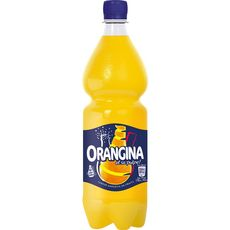 Orangina Boisson gazeuse à la pulpe de fruit jaune 1l