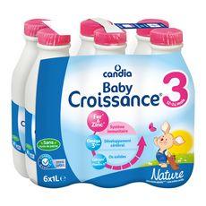 Candia CANDIA Baby 3 lait de croissance liquide dès de 12 mois