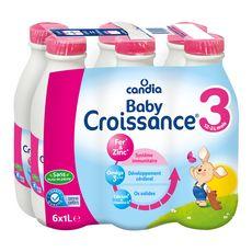 Candia CANDIA Baby 3 lait de croissance liquide dès 12 mois