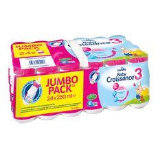 CANDIA Baby 3 lait de croissance liquide dès 12 mois 24x250ml
