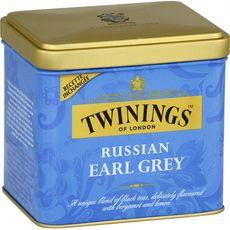 TWININGS Thé russian earl grey en vrac 150g