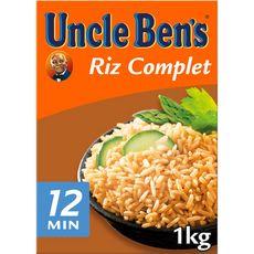 UNCLE BEN'S Uncle Ben's Riz complet vrac 12 minutes 1kg 1kg