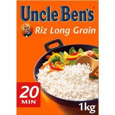 UNCLE BEN'S Riz long grain 1kg