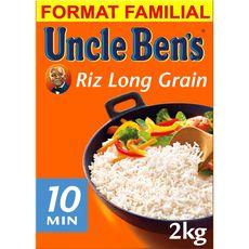 UNCLE BEN'S Uncle Ben's Riz long grain 2kg format familial 2kg
