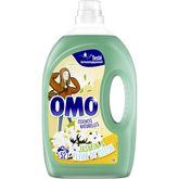 Omo lessive diluée lilas blanc lavage x52 -2,6l