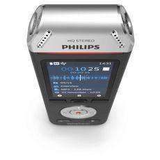 PHILIPS Dictaphone Voice Tracer DVT2110 - Noir/Chrome