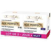 L'Oréal L'Oréal Age Perfect Soin ré-hydratant jour+nuit 2x50ml