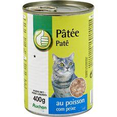POUCE Boîte pâtée au poisson pour chat 400g
