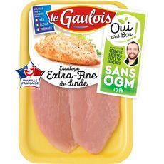 LE GAULOIS Escalopes de dinde extra fine 240g