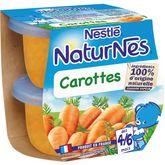 Nestlé Nestlé Naturnes bol aux carottes dès 4 mois 2x130g