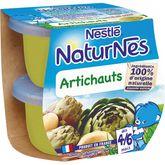 Nestlé Nestlé Naturnes bol aux artichauts dès 4 mois 2x130g