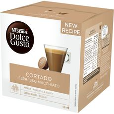 Nescafé Dolce Gusto Capsules de café cortado espresso macchiato X16-100g
