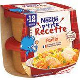 Nestlé ptite recette paëlla 2x200g dès 12 mois