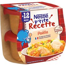 Nestlé NESTLE P'tite recette bol à la paëlla dès 12 mois