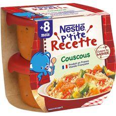Nestlé NESTLE P'tite recette bol de couscous dès 8 mois