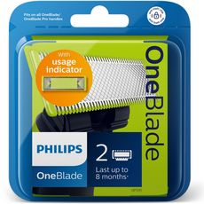 PHILIPS One Blade recharges lames de rasoir 2 recharges