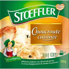 STOEFFLER Choucroute cuisinée 2-3 portions 500g