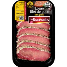 LES BRASERADES Lomo filets de porc à l'ail et persil 300g
