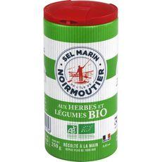 Sel Marin De Noirmoutier Sel aux herbes et légumes bio 250g