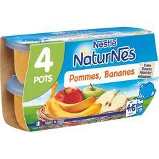 Nestlé NESTLE Naturnes petit pot dessert pomme banane dès 4 mois