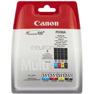CANON Cartouche CLI-551 C/M/Y/BK MULTI PACK SEC
