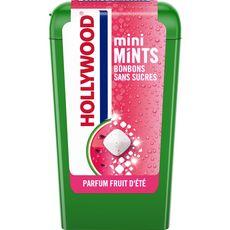HOLLYWOOD Mini mints bonbons sans sucres fruit d'été 12,5g