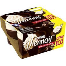 Nestlé Viennois dessert lacté au chocolat noir 4x100g