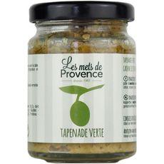 Les Mets de Provence tapenade d'olives vertes 90g