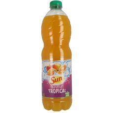 SUN Boisson aux fruits saveur tropicale avec sucre et édulcorant 2l