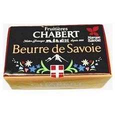 FROMAGERIE CHABERT Beurre doux de Savoie 250g