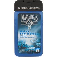 LE PETIT MARSEILLAIS Gel douche corps et cheveux aux minéraux et bois de cèdre 250ml