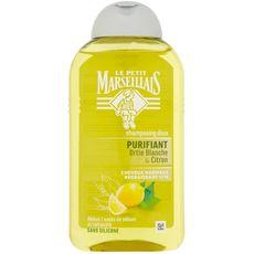 LE PETIT MARSEILLAIS Shampooing ortie blanche & citron cheveux regraissant vite 250ml