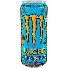 Monster energy Boisson énergisante au jus de mangue boîte 50cl