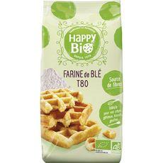 HAPPY BIO Happy Bio farine de blé T80 -1kg 1kg