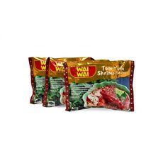 WAI WAI Wai Wai Nouilles asiatiques instantanées saveur crevettes 3x60g 3x60g