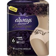 Always Always Discreet Boutique culottes incontinence plus taille M x9