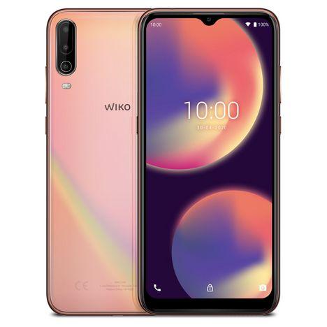 WIKO Smartphone View4 64 Go 6.52 pouces Or 4G Double port NanoSim