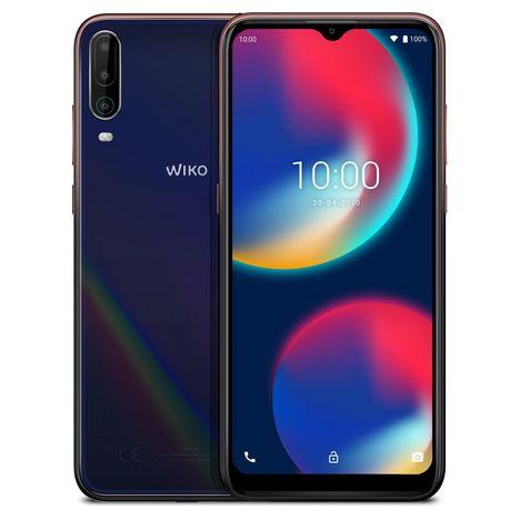 WIKO Smartphone View4 64 Go 6.52 pouces Bleu 4G Double port NanoSim