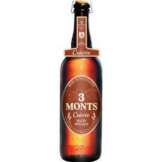 3 MONTS Bière cuivrée malts spéciaux 6,5% 75cl