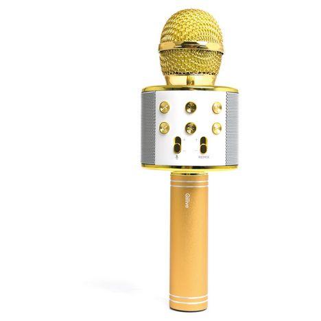 QILIVE Micro karaoké bluetooth - Or - Q1078