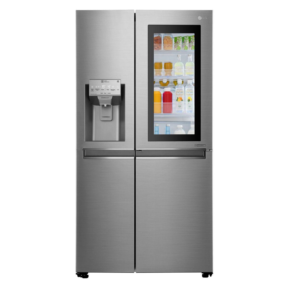 Réfrigérateur américain GSI960PZAZ, 601 l, Froid no frost