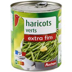 Auchan Haricots verts extra fins 440g