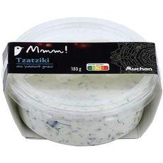 AUCHAN MMM! Tzatziki au yaourt grec 180g