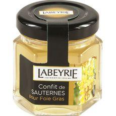 LABEYRIE Confit au sauternes pour foie gras 50g