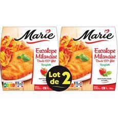 Marie escalope milanaise 2x300g