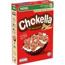 CHOKELLA Céréales goût chocolat noisettes 350g